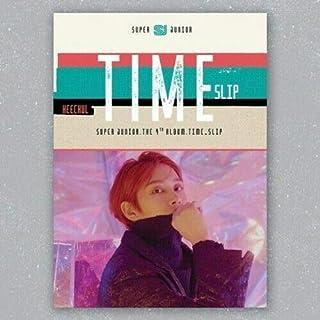 Super Junior 'Time Slip' 9th Album Heechul Ver CD+Booklet+PhotoCard+Message PhotoCard Set+Tracking KPOP Sealed