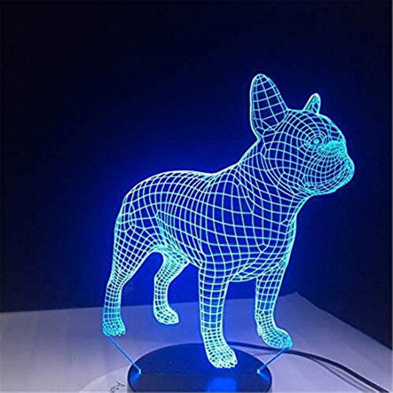 Helles Villenlicht 3D Tischleuchte LED Nachtlicht