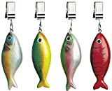 Boston Warehouse Fish Tablecloth Weights, Lake Collection, Set of 4