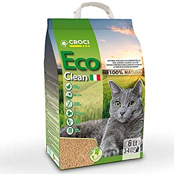 CROCI Eco Clean Litière pour Chat 6 litre
