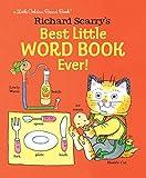 Richard Scarry's Best Little Word Book Ever! (Little Golden Board Book)