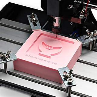 CCChaRLes Feuille De Panneau De Résine Rose Pour Machine De Gravure Cnc Modèle D'Artisanat Bricolage Graver Les Décoration...