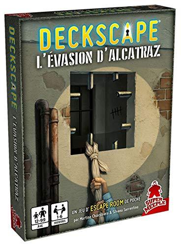 Super Meeple DECKSCAPE – L'evasione di Alcatraz