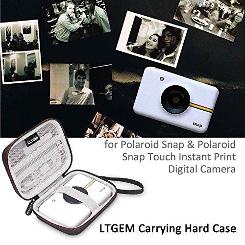 LTGEM EVA Hard Case Travel Carrying Storage Bag for Polaroid Snap & Polaroid Snap Touch Instant Print Digital Camera
