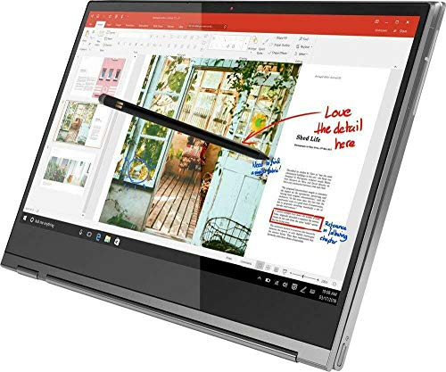 Lenovo Yoga C930 2-in-1 Laptop, 13.9' FHD (1920 x 1080) Touchscreen, 8th Gen Intel Core i7-8550U, 12GB RAM, 256GB SSD, Windows 10 (Renewed)