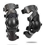 Asterisk Carbon Cell 1 Knee Brace Protection System Pair (Carbon, Small)