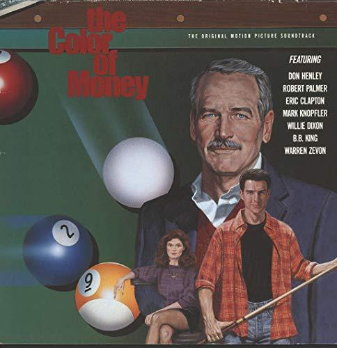 SOUNDTRACK LP UK MCA 1986 10 TRACK WITH PROMO INFO SHEET INCLUDING DON HENLEY,ROBERT PALMER,ERIC CLAPTON,MARK KNOPFLER,WILLIE DIXON,BB KING AND WARREN ZEVON (MCG6023)