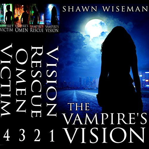 Psychics Vs. Vampires, Episodes 1-4 audiobook cover art