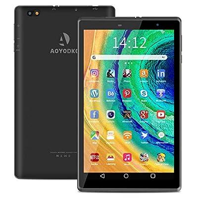Android 10 tablets 8 inch Tablet PC 32GB ROM 3GB RAM Quad-core Processor Wifi Bluetooth,1280x800 HD IPS Screen,5MP Rera Camera Google Play(black)