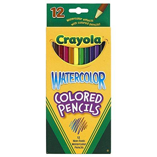 CRAYOLA LLC WATERCOLOR PENCILS 12CT FULL LENGTH (Set of 24)