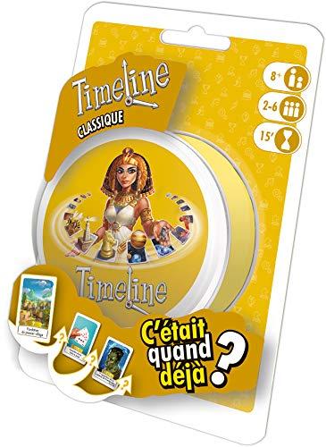 Timeline Classic - Asmodee - Jeu de société - Jeu de cartes - Jeu d'ambiance