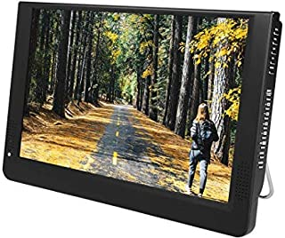 Portable Car Tv with Hdmi,12In 1080P Atsc Digital Tv,1280x800 1500Mah Mini Tv Supports Av in/Out, Sd/Mmc Card, USB Port, V...