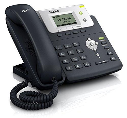 Yealink T21E2 - Teléfono VOIP, Color Negro y Plata