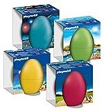 Playmobil Juego de 4 huevos de Pascua 9415 9416 9417 9418