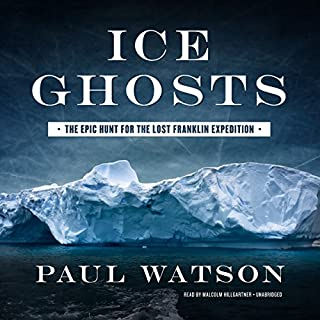 Ice Ghosts audiobook cover art