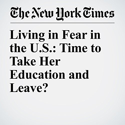 Living in Fear in the U.S.: Time to Take Her Education and Leave? copertina