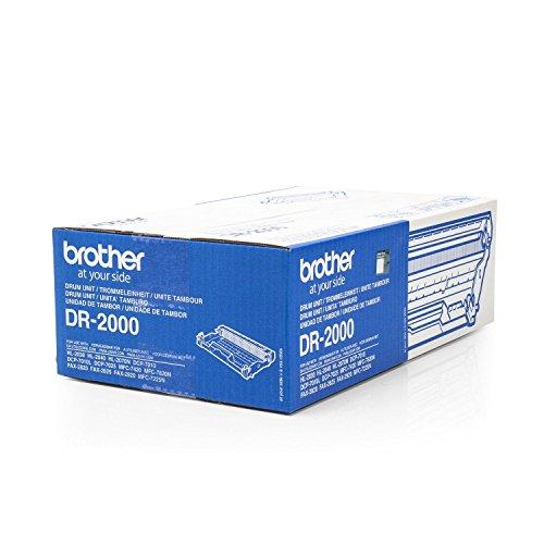 Original Brother DR-2000 /, für Fax 2820 Premium Trommel, Farblos, 12000 Seiten