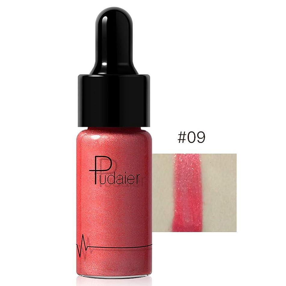 Liquid Highlighter, Waterproof Contour Make Up Glitter Brighten Shimmer Highlighters Makeup