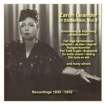 Icons of German Cinema: Zarah Leander in Stockholm, Vol. 2 (1930-1952)