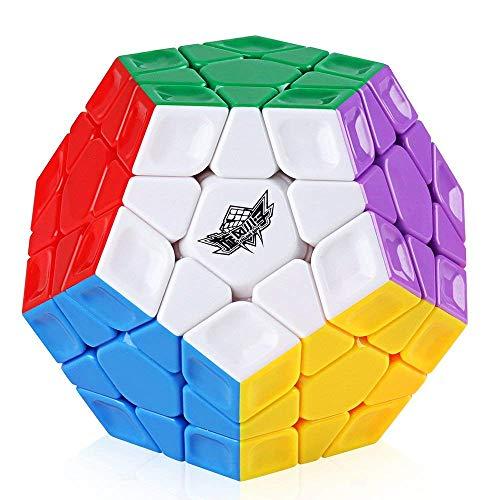 Coogam Cyclone Boys Magic 3x3 Megaminx Cubo Mágico Profesional Pentagonal Megamix Cubo de Velocidad de Juguete