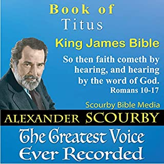 Book of Titus, King James Bible audiobook cover art