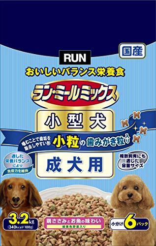 ランミール ドッグフード ミックス 小粒 成犬用 3.2kg