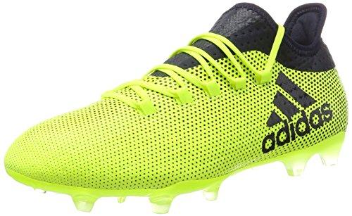 Adidas X 17.2 FG, Botas de fútbol para Hombre, Amarillo (Amasol Tinley), 44 2/3 EU