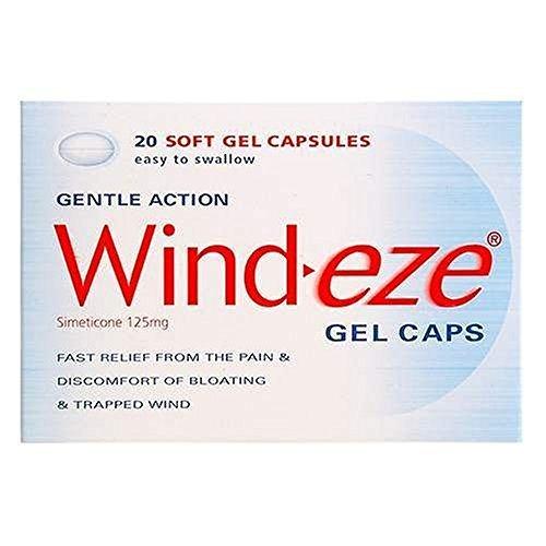 Wind-Eze gel capsules 20 by Wind-Eze
