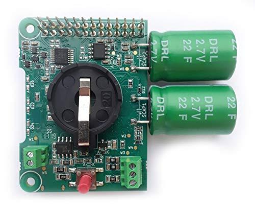 Juice4halt Supercapacitor UPS for Raspberry Pi, 7V.28V Input, RTC, RS-485, Screw terminal