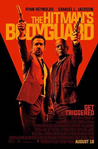 HITMAN'S BODYGUARD (2017) Authentic Original Movie Poster - Single-Sided - 27x40 - Ryan Reynolds - Salma Hayek - Gary Oldman - Elodie Yung