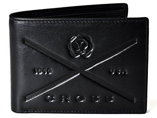 Cross Geldbörse Herren Makers Mark in Geschenkbox mit RFID-Schutz -Echtleder - schwarz Querformat