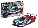 Revell Voiture Ford GT échelle 1/24-88 pièces 24 h du Mans Maquette, 7041, Bleu