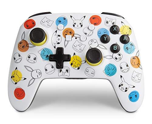 PowerA Enhanced Wireless Controller for Nintendo Switch - Pokemon Expressions - Nintendo Switch