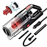 SONRU Car Vacuum Cleaner 7000PA 150W High Power Corded Car Vacuum DC12V Portable Handheld Low Noise Wet Dry...