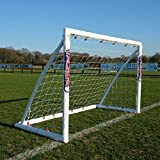 Samba Fußballtor 1,8 x 1,2 m · Wetterfestes Fussballtor für Kinder · neuartiges Einrastsystem (Safe Locking Model) · 1 Fussballtor Garten 1,8 x 1,2m Fußballtor … (1.8 x 1.2m...