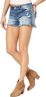 American Rag Juniors' Ripped & Frayed Denim Shorts