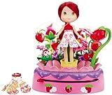 Tarta de Fresa Hasbro Moda mágica - Rueda mágica Cambio de Color con muñeca y Dos Vestidos
