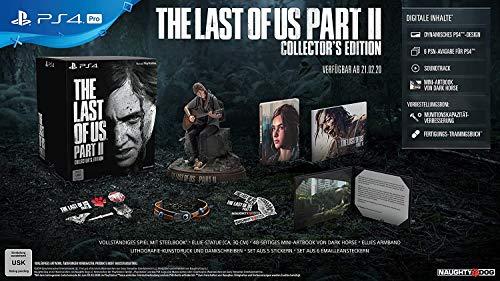 The Last of Us Part Parte 2 II - Pegi Uncut PS4 Edicion Coleccionista Collector Edition ES
