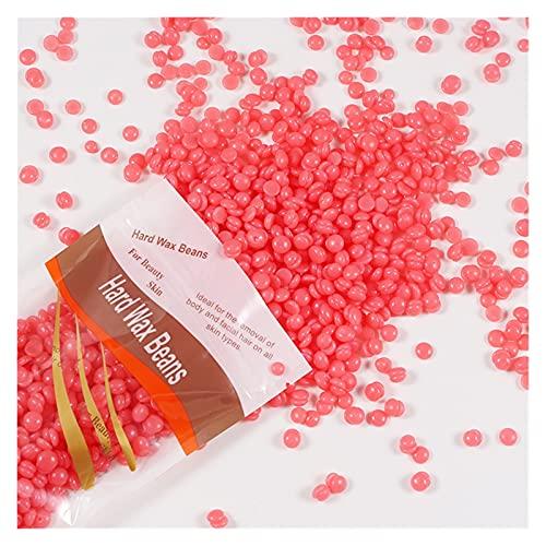 100 g / paquete Frijoles de cera Depilatoria CALIENTE CALIENTE Pelleza de cera Extracción de bikini Cara Piedra Piernas Brazo Eliminación de pelo Bean Unisex Partículas pequeñas ( Color : Strawberry )