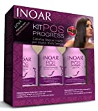 Inoar Fortschritt Shampoo/Haarspülung/ohne Ausspülen 3 x 250 ml Original Flaschen