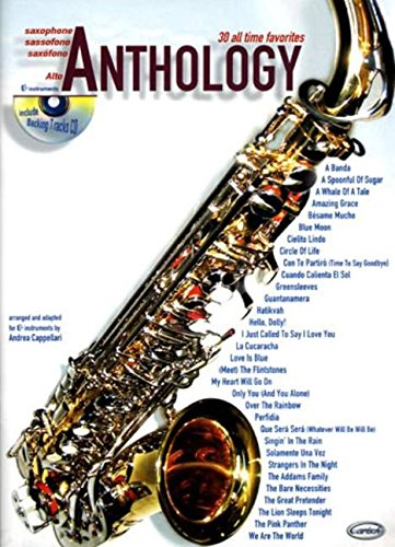 30 All Time Favourites Anthology (Cappellari) Alto Saxophone Book/Cd