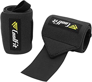 EFINNY Men Pressure Wrist Wrap Adjustable Sports Training Wristband Weight Lifting Wrist Support Braces For Powerlifting Strength Training