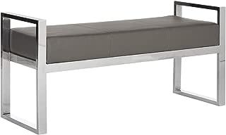 Best safavieh modern glam slade grey bench Reviews