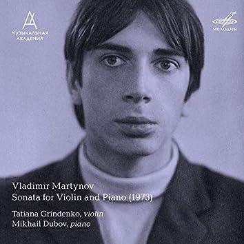 Vladimir Martynov: Sonata for Violin and Piano