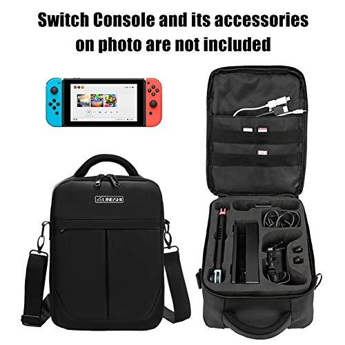 wasserdichte Messenger Bags Aufbewahrungspack für Nintendo Switch Travel Case NS Zubehör