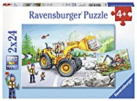 Diggers at Work (2 X 24 PC Puzzle)