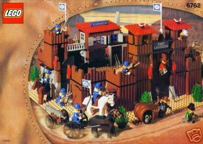 LEGO Wild West 6762 Fort Legoredo von 2002