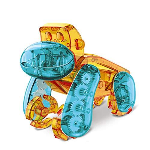 CCCYT Solarmodell Experimentierkasten Orang-utan Solar Bausatz Set Kinder Stem Spielzeug Konstruktion Bause Solar Angetrieben DIY Konstruktionsspielzeug Robot Wissenschaft Kits