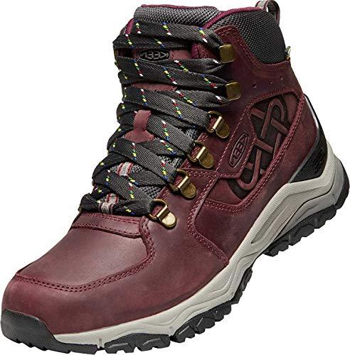 KEEN Innate Leather Mid WP Schuhe Limited Edition Damen,Weinrot, 40 EU