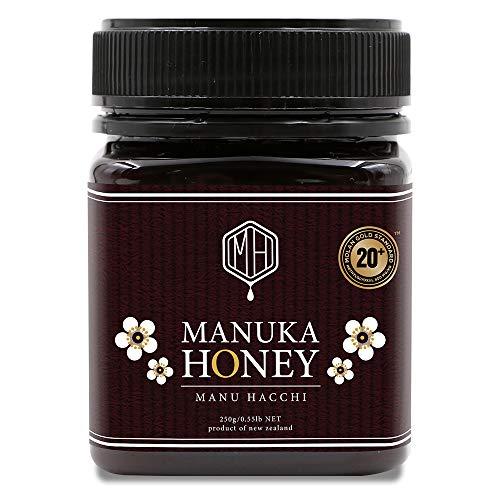 マヌカハニー MGS20+ (MGO800以上) 250g 無添加 非加熱 オーガニック 生 はちみつ 純粋 蜂蜜 ニュージーランド産 UMFではなくNZ政府公認のMGS認証